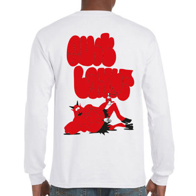 Outlawz Store / Mr.Satan / Longsleeve / Weiss