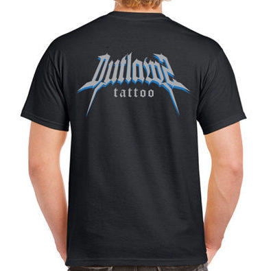 Outlawz Tattoo T-Shirt Black